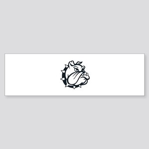 ONE COLOR BULLDOG Bumper Sticker